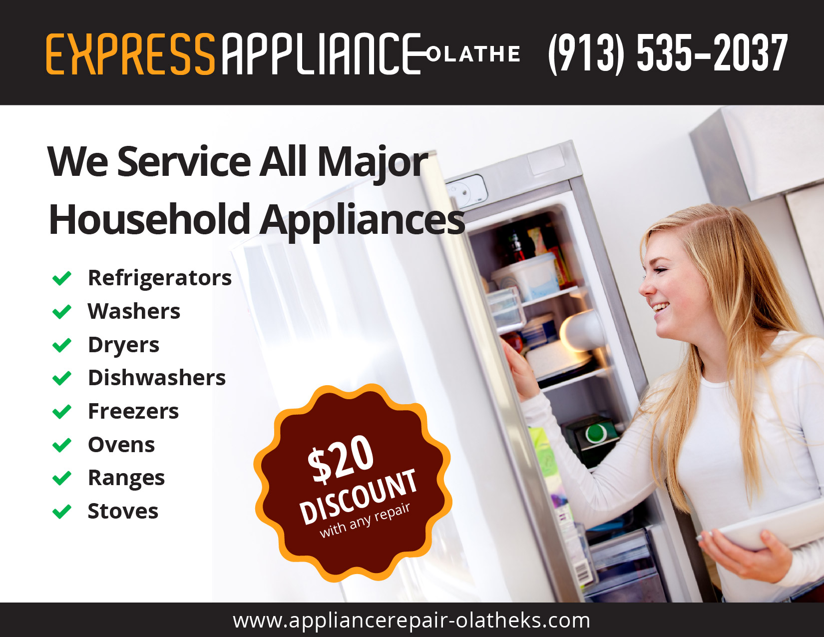 Ge Appliance Repair Kansas City Express Appliance Repair Of Olathe 913 535 2037